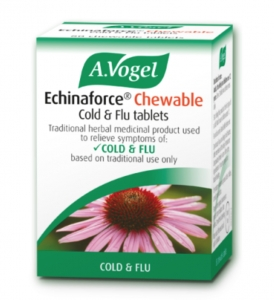 A. Vogel Echinaforce Chewable Cold & Flu 40 Tablets