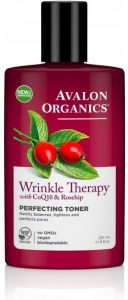 Avalon Organics Wrinkle Therapy CoQ10 Perfecting Facial Toner 230ml