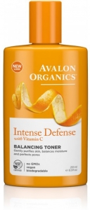 Avalon Organics Intense Defence Balancing Facial Toner 250ml