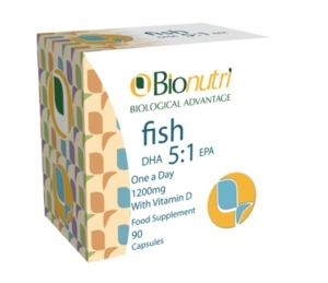 Bionutri Fish Oil DHA 5:1 EPA 1200mg 90 Capsules