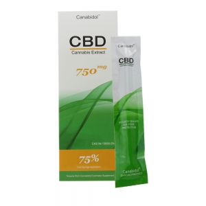 Canabidol CBD Cannabis Extract 750mg