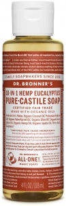 Dr Bronner's 18-In-1 Hemp Eucalyptus Pure-Castile Soap 237ml