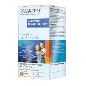 Equazen Children's Liquid Vanilla 200ml