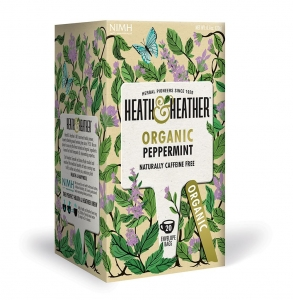 Heath & Heather Organic Peppermint 20 Bags