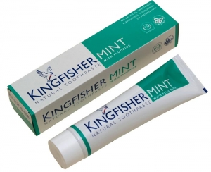 Kingfisher Mint Natural Toothpaste (With Fluoride) 100ml