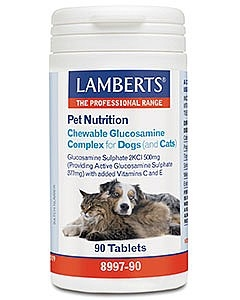 Lamberts Chewable Glucosamine Complex For Dogs & Cats 90 Tablets