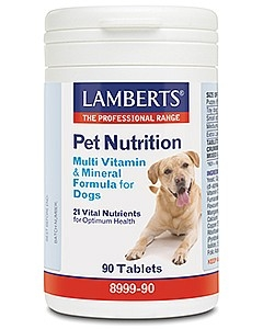 Lamberts Multi Vitamin & Mineral For Dogs 90 Tablets