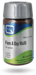 Quest Fem A Day Multi 120 Tablets