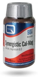 Quest Synergistic Cal-Mag 60 Tablets