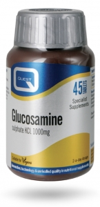 Quest Glucosamine Sulphate KCI 1000mg 45 Tablets