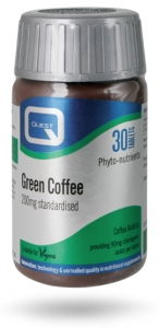 Quest Green Coffee 200mg Extract 90 Tablets