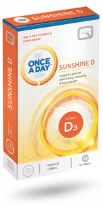 Quest Once a Day Sunshine D 30 Tablets