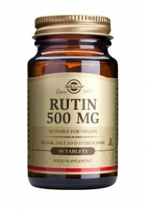 Solgar Rutin 500mg 100 Tablets