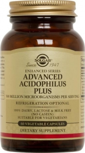 Solgar Advanced Acidophilus Plus 120 Capsules