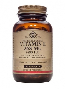 Solgar Vitamin E 268 mg (400iu) 50 Softgels