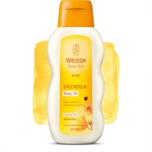 Weleda Calendula Baby Oil (Fragrance Free) 200ml