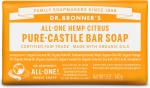 Dr Bronner's All-One Hemp Citrus Orange Pure-Castile Soap 140g