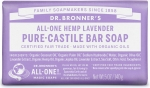 Dr Bronner's All-One Hemp Lavender Pure-Castile Soap 140g