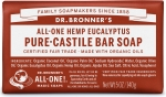 Dr Bronner's All-One Hemp Eucalyptus Pure-Castile Soap 140g