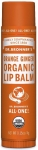 Dr Bronner's Organic Lip Balm Orange Ginger 4g