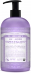 Dr Bronner's 4-In-1 Sugar Lavender Organic Pump Soap 709ml