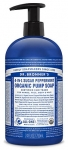 Dr Bronner's 4-In-1 Sugar Peppermint Organic Pump Soap 709ml