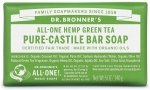 Dr Bronner's All-One Hemp Green Tea Pure-Castile Soap 140g