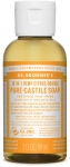 Dr Bronner's 18-In-1 Hemp Citrus Pure-Castille Soap 60ml