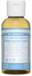 Dr Bronner's 18-in-1 Hemp Baby Unscented Pure-Castile Soap 60ml