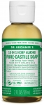 Dr Bronner's 18-in-1 Hemp Almond Pure-Castile Soap 60ml