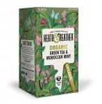 Heath & Heather Organic Green Tea With Moroccan Mint 20 Bags