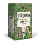 Heath & Heather Organic Green Tea & Tulsi 20 Bags