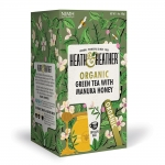 Heath & Heather Organic Green Tea With Manuka Honey 20 Bags