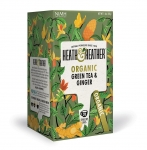 Heath & Heather Organic Green Tea & Ginger 20 Bags