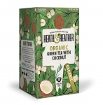 Heath & Heather Organic Green Tea With Coconut 20 Bags