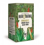 Heath & Heather Organic Green Tea & Aloe Vera 20 Bags
