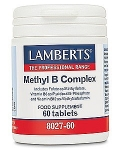 Lamberts Methyl B Complex 60 Tablets