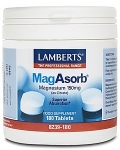 Lamberts MagAsorb 180 Tablets