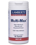 Lamberts Multi-Max (For The Over 50's) 60 Tablets