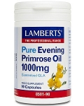Lamberts Extra High Potency Evening Primrose Oil with Starflower Oil 90 Capsules