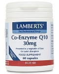 Lamberts Co-Enzyme Q10 30mg 180 Capsules