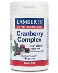 Lamberts Cranberry Complex Powder With FOS & Vitamin C
