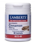 Lamberts Cinnamon 2500mg 60 Tablets