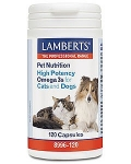 Lamberts High Potency Omega 3s For Cats & Dogs 120 Capsules
