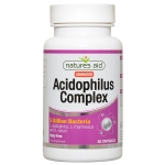 Natures Aid Acidophilus Complex 5 Billion 60 Capsules