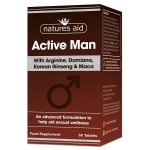 Natures Aid Active Man 60 Tablets