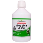 Natures Aid Aloe Vera Juice Double Strength 500ml