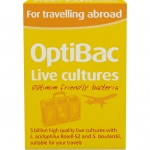 OptiBac Travelling Abroad 60 Capsules
