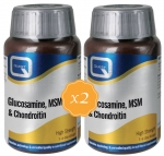 Quest Glucosamine, MSM & Chondroitin 180 Tablets