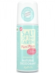 Salt Of The Earth Pure Aura Natural Roll On Deodorant Melon & Cucumber 75ml